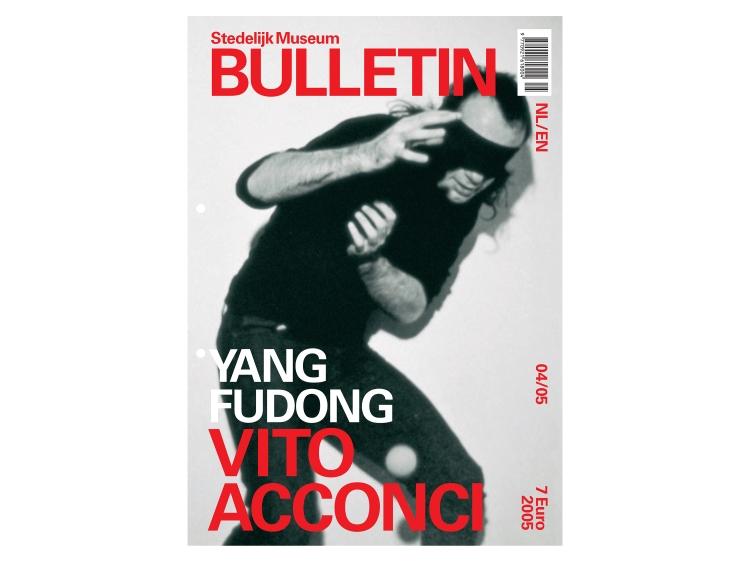 Stedelijk Museum Bulletin Vito CAcconci Yang Fudong