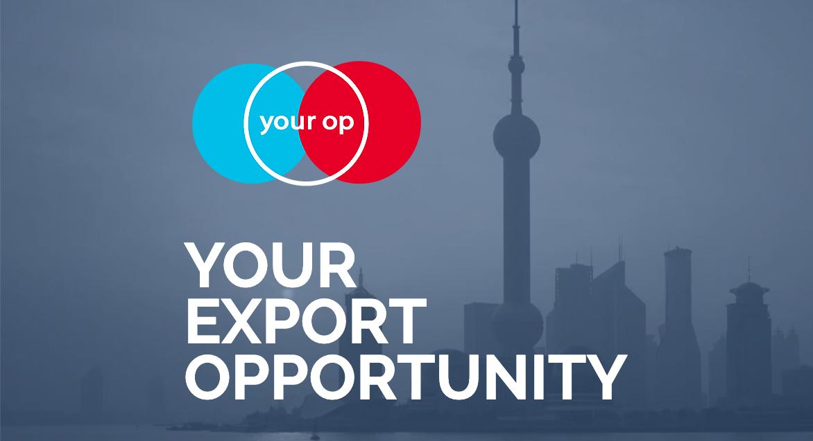 Your Op Your Asian export opportuniy Amsterdam Shanghai Hongkong